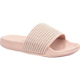 Papuče Skechers Pop Ups 34210-LTPK roze