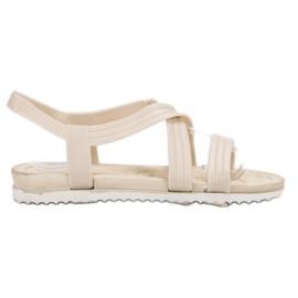 SHELOVET Gumene sandale koje se mogu umetnuti bijela