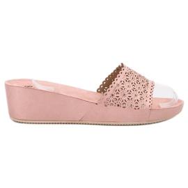 Primavera rózsaszín Papirne papuče