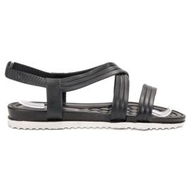 SHELOVET Gumene sandale koje se mogu umetnuti crna