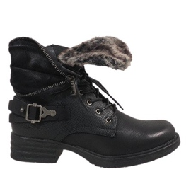 Fekete Čizme s crnom izolacijom JA3203