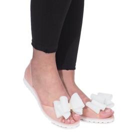 Smeđ Bež Flower City meliski sandale