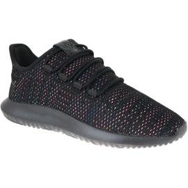 Fekete Cipele s cvjetnim obrubom Adidas M AQ1091