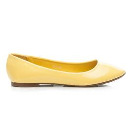 Seastar sárga Lakkozott balerina