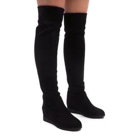 Crna Izolirane cipele visoke cipele 168-108 crne