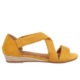 Žuti Sandale espadrila žute 9R72 Žute