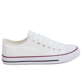 Klasszikus női fehér cipők XL03 White