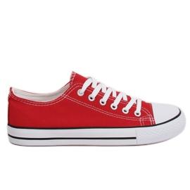 Piros Klasszikus női cipők XL03 Bigred