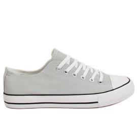 Női cipők klasszikus szürke XL03 Szürke