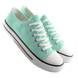 Zöld Klasszikus női cipők XL03 L.GREEN