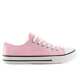 Rózsaszín Klasszikus női cipők XL03 Pink