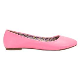 SHELOVET rózsaszín Alkalmi balerina