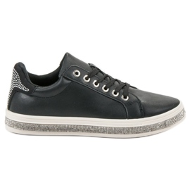 SDS crna Sportske cipele s cirkonima