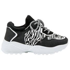 SHELOVET Modne tenisice Zebra Print