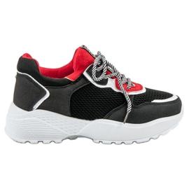 SHELOVET Divatos fekete cipők