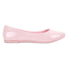 Roze Lakirane VICES balerinke