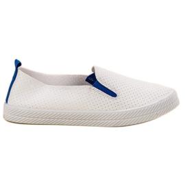 Kylie Fehér cipők Slip On