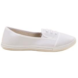 Balada fehér Slip-on cipők