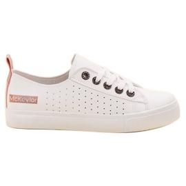 Fehér Bijele cipele MCKEYLOR