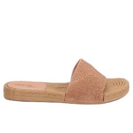 Ženske ružičaste papuče JFF-V182 Pink