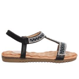 Crne ženske sandale HT-67 Crna