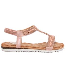 Roze Ženske sandale ružičaste HT-67 Pink