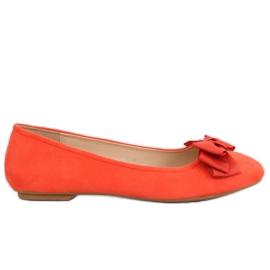 Narančasta ženska balerina 3173 Narančasta