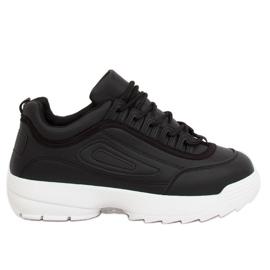 Fekete Crna D1909 Crna sportska obuća