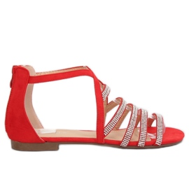 Crvena Ženske sandale crvene LL6339 Crvene