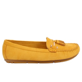 Žuti Loafers yellow L7183 Yellow