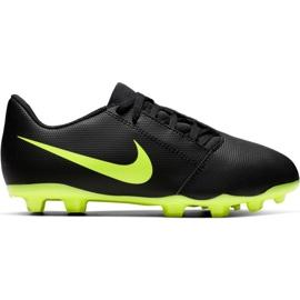 Nike Phantom Venom Club Fg Jr AO0396 007 nogometne cipele crne