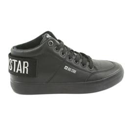 Crna Visoke crne tenisice Big Star 274351