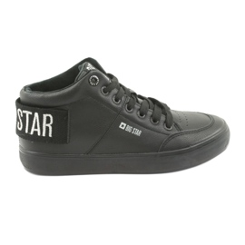 Visoke crne tenisice Big Star 274351 crna