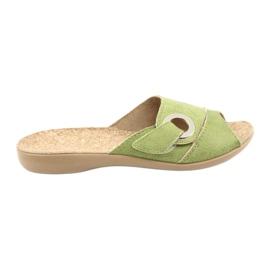 Zelena Befado ženske cipele pu 265D008