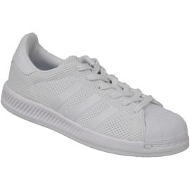 Bijela Cipele za odbijanje Adidas Superstar BY BY899