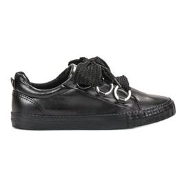 Seastar crna Crne cipele
