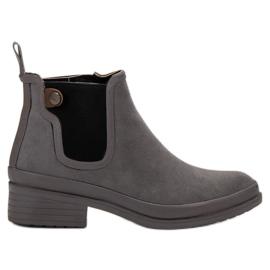 Kylie siva Čizme Jodhpur čizme