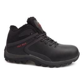 Izolirane čizme za snijeg M2379A-1 crna