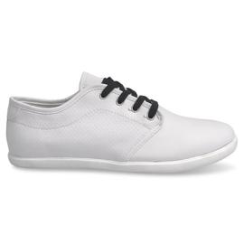 Crna Muške tenisice 5307 Bijele