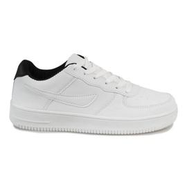 Bijela Bijele muške sportske cipele A9525