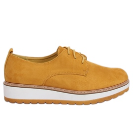Žuti Loafers yellow C-7225 Yellow