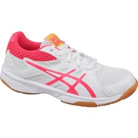 Odbojkaške cipele Asics Upcourt 3 Gs Jr 1074A005-104 bijela bijela