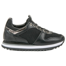 SDS crna Crne sportske cipele