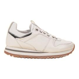 SDS bijela Bijele sportske cipele