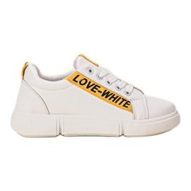 Jumex bijela Udobne sportske cipele