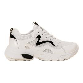 SHELOVET bijela Laced Sportske cipele