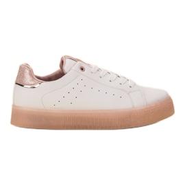 SHELOVET Bijele sportske cipele