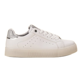 SHELOVET bijela Bijele sportske cipele
