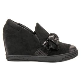 Vinceza crna Podnožje cipele