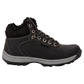 Ax Boxing crna Izolirane treking cipele